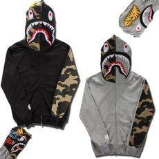bape sweater cheap 2019 fashion brand mens clothing bape shark hoodies hoody sweatshirts jacket autumn and