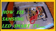 como arreglar televisores led como arreglar un televisor samsung led