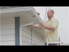 how to unclog a gutter downspout gutter maintenance how to unclog gutter downspouts