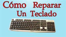 como arreglar la tecla de la luz c 243 mo reparar un teclado de pc muy f 225 cil de hacer