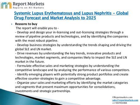 systemic lupus erythematosus lupus nephritis global drug forecast
