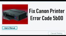 how to fix canon mp258 error code 5b00 how to fix error code 5b00 for canon g3200 solution fix printer error code