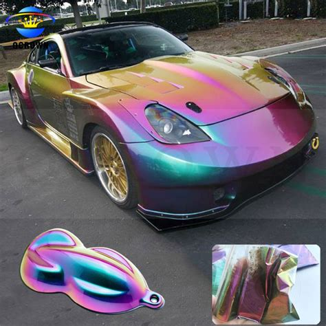 chameleon mirror powder cameleon car paint color changing