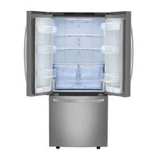refrigerador lg 22 pies cubicos acero gb22bgs lg refrigerador con congelador inferior 22 pies c 250 bicos gf22bgsk acero inoxidable