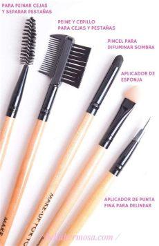 set de brochas para maquillaje walmart rese 241 a set de brochas para maquillaje profesional 24 piezas pinceles de maquillaje brochas