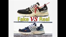 real vs white nike air presto unboxing review - Nike Air Presto Off White Fake Vs Real