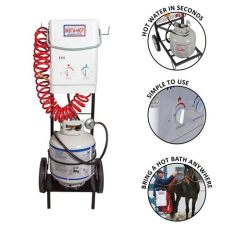 insta hot portable equine washing system insta 174 portable equine washing system schneiders saddlery