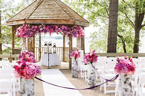 24 outdoor wedding decoration ideas elegantwedding