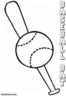 printable baseball bat coloring pages baseball bat coloring pages coloring pages to and print