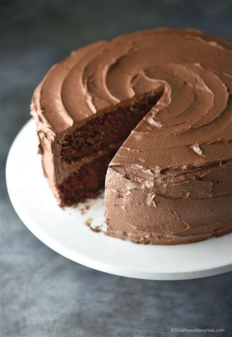 perfect chocolate cake recipe wears hats