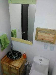 pallet wood bathroom vanity diy pallet wood bathroom vanity 101 pallets