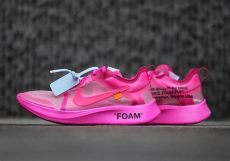 white nike zoom fly sp black pink release info sneakernews - Off White X Nike Zoom Fly Sp Pink Black