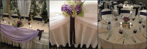 bridal party table decor elegant design beth