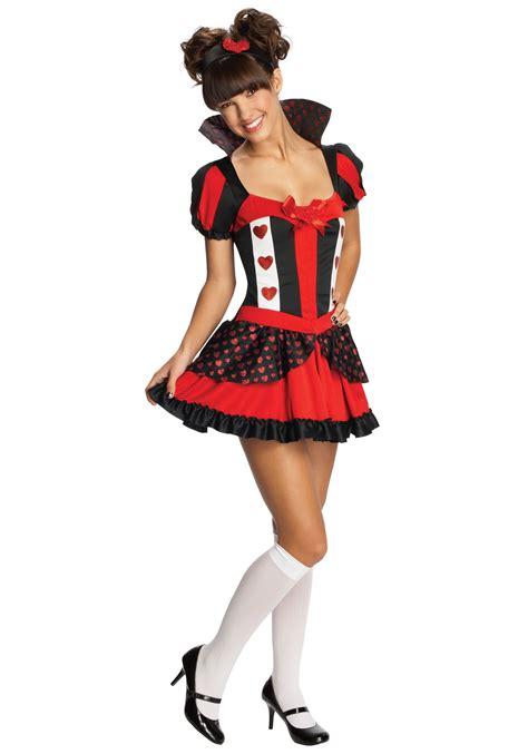 teen sassy queen hearts costume ebay