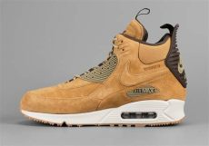 buy nike air max 90 sneakerboot the quot wheat quot look continues with the nike air max 90 sneakerboot sneakernews
