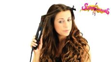 moe hair straightener how to curl your hair with a straightener flat iron straighteners www superstrands