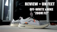 nike x off white zoom fly on feet review on white x nike quot the 10 quot zoom fly