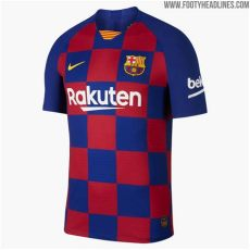 kit fc barcelona dls 19 barcelona 19 20 home kit revealed footy headlines