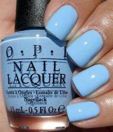 opi light blue nail polish opi the i s it kelliegonzoblog nail light blue nail light blue nails