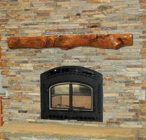rustic wood fireplace mantel 7 gorgeous rustic mantels