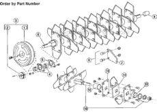 bluebird f20b parts list and diagram 2000 12 ereplacementparts - Bluebird Lawn Comber F20b Parts