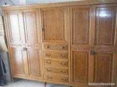 modelos de roperos grandes de madera armario ropero modelo exclusivo en madera mac comprar muebles vintage en todocoleccion