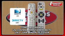 como programar un control universal para tv insignia como programar un remoto de directv un1 unr1 en un tv lcd o led