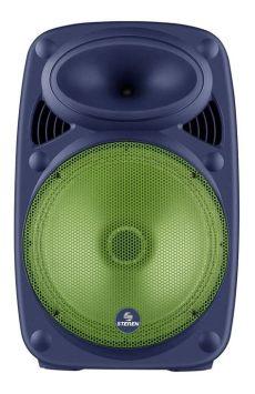 bocina con microfono steren bafle bocina recargable 15 steren incluye microfono y tripie con luz led 2 190 00 en mercado