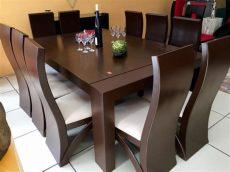 comedores de madera modernos en mexico comedor 10 sillas madera de pino comedores moderno 28 600 00 en mercado libre