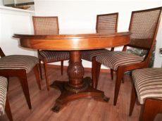 comedor de 6 sillas de cedro juego de comedor madera cedro 6 sillas mesa nuevo de walmer 49 900 00 en mercado libre