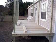 how to build a porch off a mobile home 9 beautiful manufactured home porch ideas mobile home living