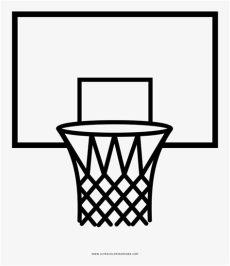 canasta de basquetbol para dibujar jpg hoop coloring page kimphuchcm photo gallery of dibujo tablero de baloncesto