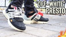 nike presto off white on feet nike air presto quot white quot with on foot review c o virgil abloh