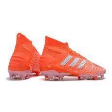 adidas botas de futbol hombre botas de futbol adidas predator 19 1 fg hombre naranja blanco