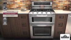 estufas con horno doble kitchenaid - Estufa Whirlpool Doble Horno