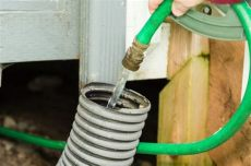 unclog downspout drain how to unclog underground gutter drain piping hunker