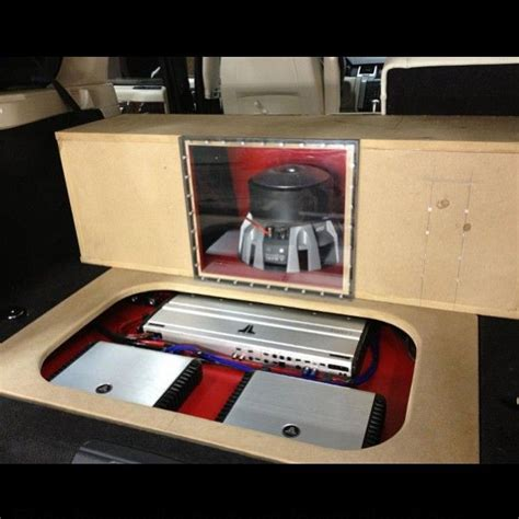 system jlaudio bass custom car stereo trunk install
