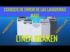 mabe error e1 que significan c 211 digos de error de las lavadora mabe e3 e1 etc en 2020 lavadora