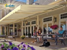 sunsetter awning replacement fabric 20 sunsetter motorized awning with acrylic fabric by sunsetter awnings ebay