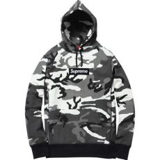 black and white camo supreme hoodie logos camo and boxes on