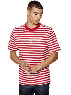 guess x asap rocky t shirt red new arrivals guess originals x a ap rocky the fashionisto
