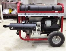 generac generator muffler silencer kit home gensilencer 174 home generator silencer