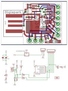 attiny85 usb schematic 1x digispark kickstarter attiny85 arduino micro usb development board ebay