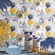 harlequin wallpaper sale harlequin doyenne tangerine fuchsia turquoise wallpaper 111491