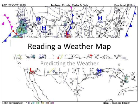 reading weather map station model