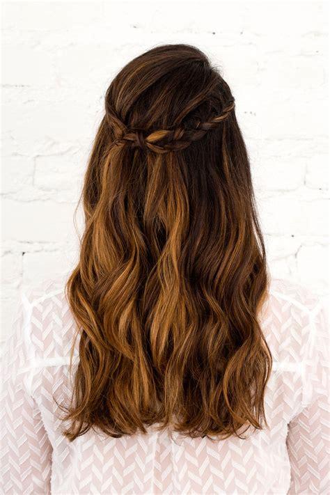 3 hairstyles diy wedding season long brit