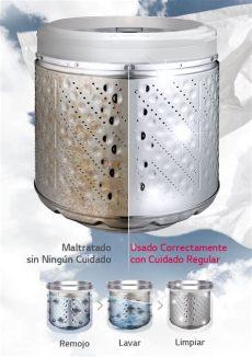 limpieza tina lavadora lg lavadora lg turbodrum wfs1719et de carga superior con 17 kgs de capacidad lg ecuador