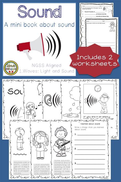 sound mini book sound ngss aligned