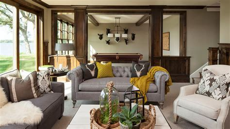 15 fascinating living rooms grey accent home design