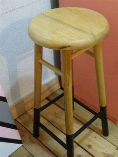 banco de madera para barra desayunadora o bar 450 00 en mercado libre - Bancos De Madera Para Barra Desayunadora